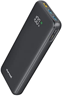 Charmast Power Bank PD 23800mAh USB C 18W Power Delivery Portable Charger LED Display Battery Pack with 2 Input and 4 Output Compatible with Cell Phone