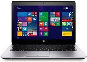 Renewed EliteBook laptop 840 G2 14-inch intel i5-5300U 8 GB 256 GB free microsoft office and Win 10 (Renewed)