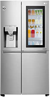 LG 601 Litres Side by Side Refrigerator with InstaView Door in Door