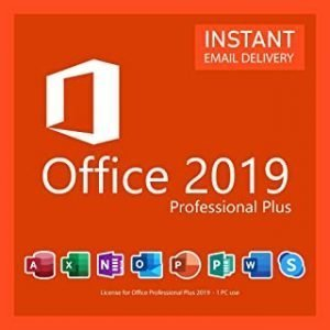 Office 2019 Professional Plus 1PC Original License key Lifetime (Online Delivery)