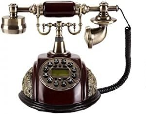 Antique Telephone Fixed Landline Caller Display Creative Fashion Home Retro Phone