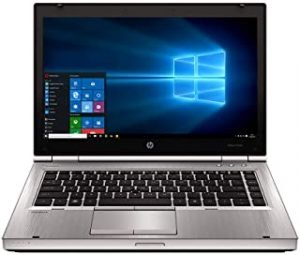 Renewed EliteBook laptop 8460P Intel Core i5-2520M 14-inch 2.5 GHz 4GB 320G HDD with activated microsoft office and Windows 10 (Renewed)
