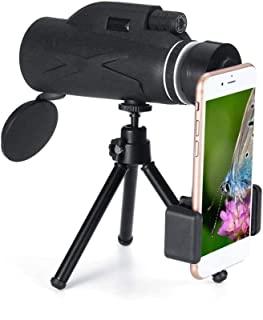 80x100 50x60 Magnification Portable Monocular Telescope Binoculars Zoom Great Handheld Telescope Military HD Professional Huntin