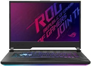 Asus ROG STRIX G512LW-HN069T STRIX G Gaming Laptop (Orignal Black) Intel Core i7-10750H Processor 2.6 GHz