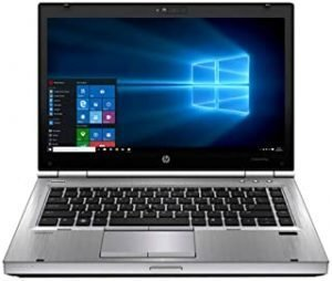 Renewed EliteBook laptop 8470P 14-inch Intel Core i5-3320M 2.6GHz 4GB 320G HDD with activated microsoft office and Windows 10(Renewed)