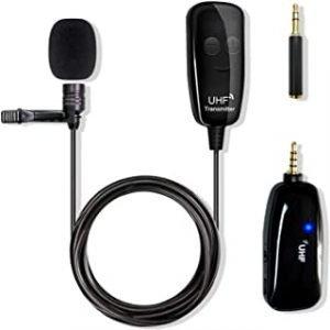 Wireless Lavalier Lapel Microphone