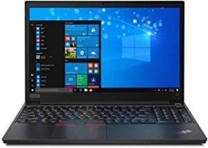 "Lenovo ThinkPad E15 15.6"" Laptop: Intel 10th Gen i7-10510U Quad-Core"