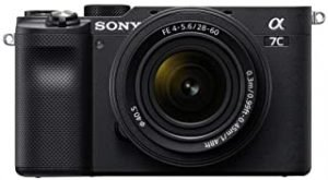 Sony Alpha 7C Compact Full Frame Mirrorless Camera with SEL28-60mm Zoom Lens