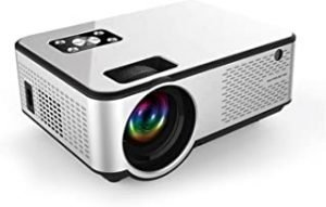 MO C9 Mini LED Projector Supports Full HD 1080p Wifi Screen Mirroring 3000 Lumens Indoor