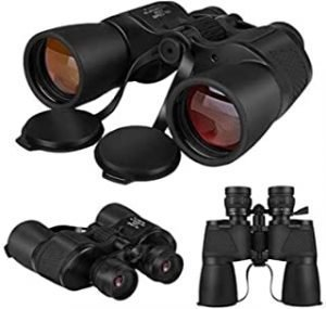 Zoom Hunting Telescope Wide Angle Professional Binoculars 10-120x80 High Magnification Long Range High Definition