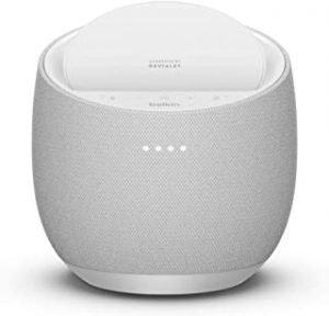 Belkin SoundForm Elite Hi-Fi Smart Speaker + Wireless Charger (Voice-Controlled Bluetooth Speaker