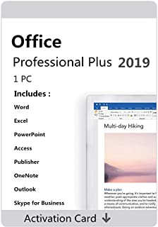Office 2019 Professional Plus 1 PC Original License key Lifetime