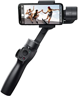 Baseus 3-Axis Handheld Gimbal Stabilizer Outdoor Bluetooth Selfie Stick with Focus Pull and Zoom for IPhone Samsung Action Camera