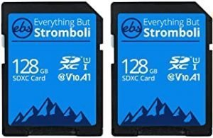 Everything But Stromboli SD Card Class 10 Multipack UHS-1 U1 Speed C10 V10 SDXC Memory Card Storage for Compatible Camera