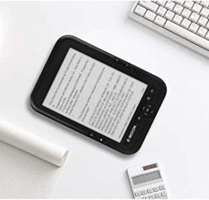 OYang 6 Inch Ebook Reader E-ink Capacitive E Book Light Eink Screen E-book E-ink E-reader Mp3 With Case EU plug 16GB