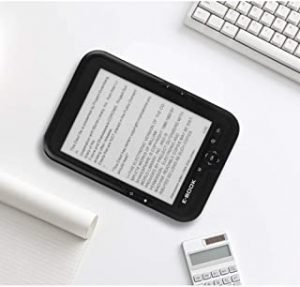 OYang 6 Inch Ebook Reader E-ink Capacitive E Book Light Eink Screen E-book E-ink E-reader Mp3 With Case EU plug 8GB