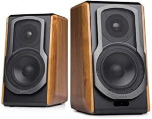 Edifier S1000DB Audiophile Active Bookshelf Speakers - Bluetooth 4.0 - Optical Input - Powered Near-Field Monitor Speaker