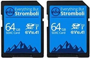 Everything But Stromboli SD Card Class 10 Multipack UHS-1 U1 Speed C10 V10 SDXC Memory Card for Compatible Camera