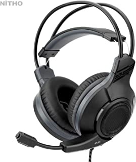 Nitho Atlas Gaming Headset With Pc Adapter (PC/playstation_4/xbox_one/nintendo_switch) - SND-ATLA-K-Y