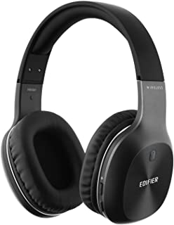 Edifier W800BT Bluetooth Headphones - Wireless Over-The-Ear Stereo Headphone with Mic