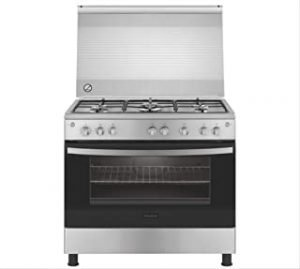 Frigidaire 5 Gas Burners Cooker FNGC90JGRS