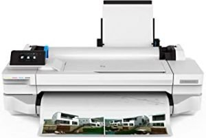 HP DesignJet Printer T130 24-inch (A1/A2/A3/A4) Large Format Inkjet Color Printer/Plotter Wi-Fi