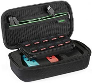 UGREEN Nintendo Switch Bag Shockproof Case Travel Carrying Case with Carved soft Liner compatible for Nintendo Switch Console
