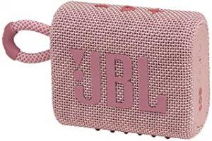 JBLGO3PINK Portable Waterproof Speaker-Pink