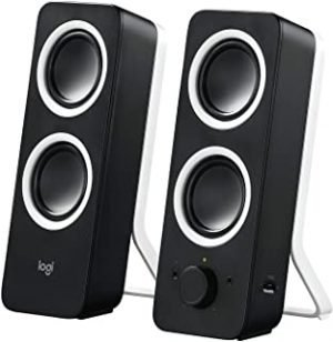 Logitech Logitech Multimedia Speakers Z200 with Stereo Sound for Multiple Devices - Black