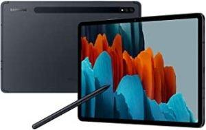 Samsung Galaxy Tab S7 LTE 128GB Mystic Black - UAE Version