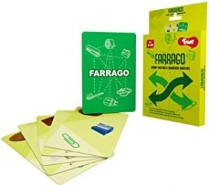 Toiing Farrago - Fast-Paced Sequence Forming Card Game for Kid | Develops Observation | Age 5+ Years | Travel Friendly | Great for Return Gifts