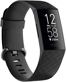 Fitbit FB417BKBK Charge 4 Fitness and Activity Tracker with Built-in GPS