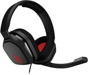 ASTRO Gaming A10 Headset for PC - GREY/RED - 3.5 MM - N/A - EMEA (PC)
