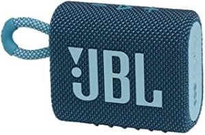 JBL Go 3 portable Waterproof Speaker-Blue
