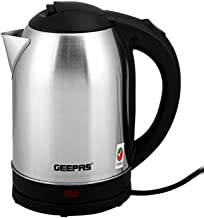 Geepas 1500W Stainless Steel Kettle