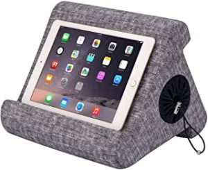 Flippy with New Storage Cubby Multi-Angle Soft Pillow Lap Stand for iPads