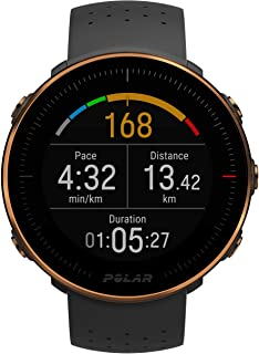 POLAR VANTAGE M –Advanced Running & Multisport Watch with GPS and Wrist-based Heart Rate (Lightweight Design & Latest Technology) - Black Copper