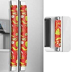 MRKG Christmas Refrigerator Handle Covers