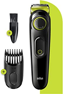 Braun BT3221 Beard Trimmer for Men Cordless & Rechargeable Hair Clipper