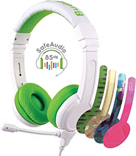BuddyPhones SCHOOL PLUS - Volume-Safe Audio Headset for Kids