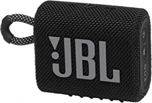 JBL Go 3 portable Waterproof Speaker-Black