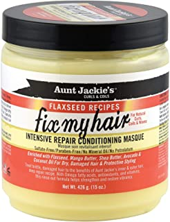 Aunt Jackie's Flaxseed Recipes Fix My Hair