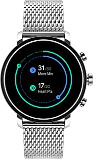 Movado Connect 2.0 Unisex Powered with Wear OS by Google Stainless Steel and Stainless Steel Smartwatch