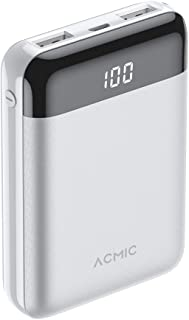 Mini power bank ACMIC power 10000mAh external battery power bank