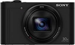 Sony DSCWX500/B Compact Digital Camera with 30x Optical Zoom