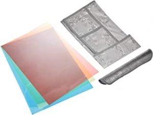 Kuber Industries Cloth 3 Pieces Fridge Mat