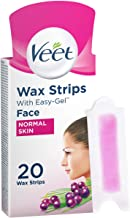 Veet Easy-Gel Face Wax Strips for Sensitive Skin