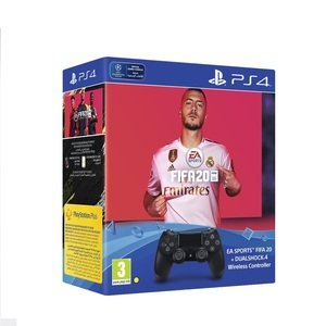 FIFA 20 + DualShock 4 Controller 14 Days PS Plus Subscription - PS4