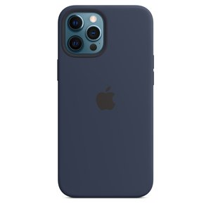 Apple Silicone Case Deep Navy with MagSafe for iPhone 12 Pro Max