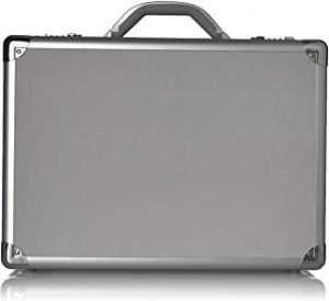 Solo New York Fifth Avenue 17.3-Inch Aluminum Laptop Attaché Briefcase